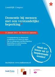 Dementie bij mensen met een verstandelijke beperking - KansPlus