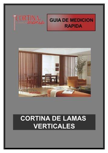 CORTINA DE LAMAS VERTICALES
