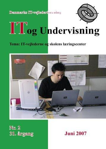 Hent nummer 2007/2 som pdf - IT-vejlederforeningen