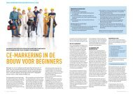 CE-MARKERING IN DE BOUW VOOR BEGINNERS