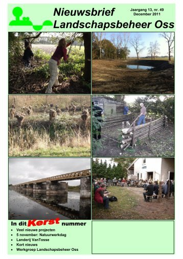 Nieuwsbrief December 2011 - Landschapsbeheer Oss