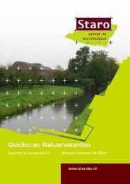 Bijlage 3 Quickscan natuurwaarden - imro.maasdriel.nl