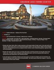 shadow lake towne center - Red Development LLC