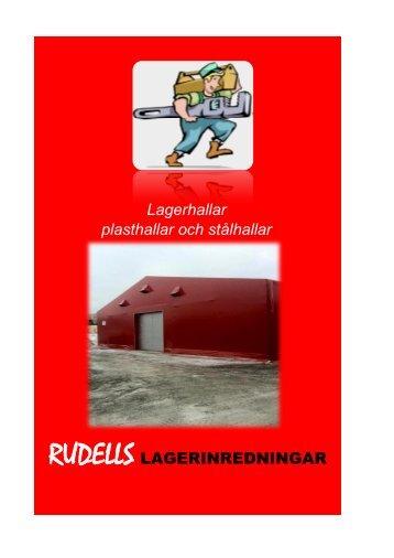 Klicka här för att titta i vår broschyr - Rudells lagerinredningar AB