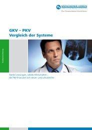 GKV – PKV Vergleich der Systeme - compero