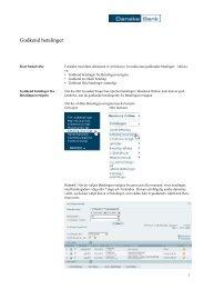 Godkend betalinger - Danske Bank
