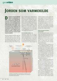 Geoviden 4, 2011: Jorden som varmekilde - Geoenergi