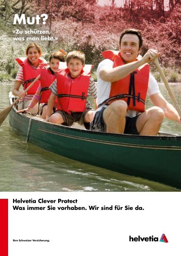 Folder - Helvetia Clever Protect