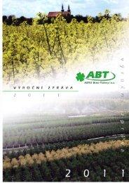 Výroční zpráva 2011 - AGRO Brno-Tuřany, as