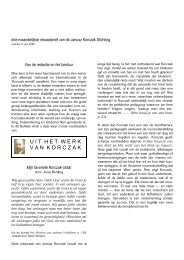 U I T  H E T  W E R K V A N  K O R C Z A K - Janusz Korczak Stichting