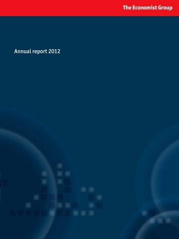 Annual report 2012 - Economist Group