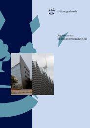Nota Kantoren- en bedrijventerreinen beleid 2010 - s-Hertogenbosch