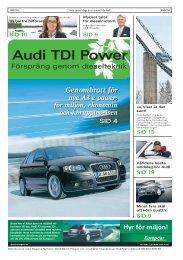 Audi TDI Power - Marknadsmedia