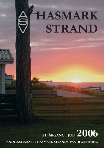 17122 Hasmark Strand '06 - Andelsselskabet Hasmark Strands ...