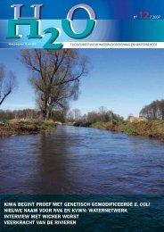 Vakblad H2O nummer 12 / juni 2007 - H2O - Tijdschrift voor ...