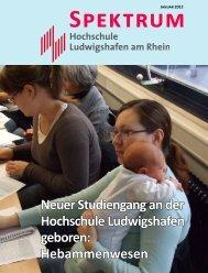 Neuer Studiengang - Fachhochschule Ludwigshafen am Rhein
