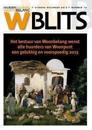 Door hier te klikken kunt u WBlits in zijn geheel ... - HV Woonbelang