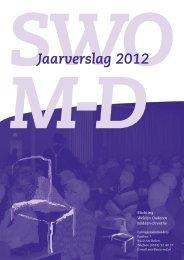 Jaarverslag 2012 - Stichting Welzijn Ouderen Midden-Drenthe