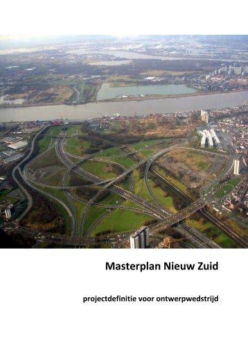Masterplan Nieuw Zuid Projectdefinitie - AG Stadsplanning Antwerpen