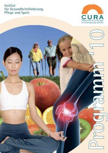 Institut für Gesundheitsförderung, Pflege und Sport