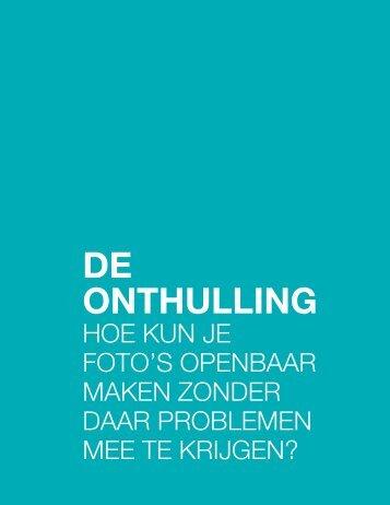 DE ONTHULLING - Emmy de Graaf
