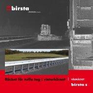 Birsta S broschyr - Birstaverken AB