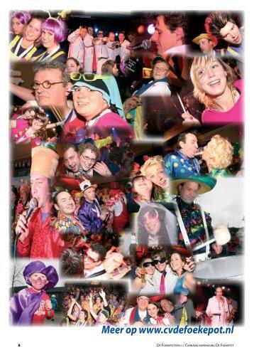 DE FOEKEPOTTERI-J Carnavalsvereniging De ... - Cv De Foekepot