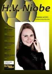 Clubblad Juli 2013 - Niobe