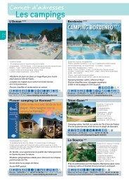 Les campings - Belle-Ile