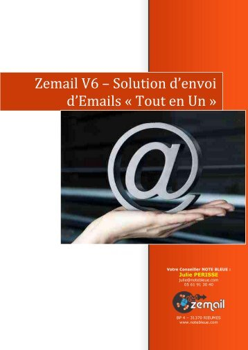 Zemail V6 – Solution d'envoi d'Emails « Tout en Un »