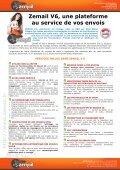Zemail V6 – Solution d'envoi d'Emails « Tout en Un » - Page 3