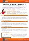 Zemail V6 – Solution d'envoi d'Emails « Tout en Un » - Page 6