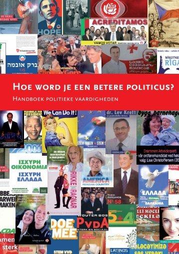 Hoe word je een betere politicus - The Art of Effective Training
