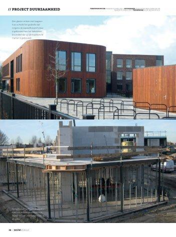Frisse School in passiefgebouw