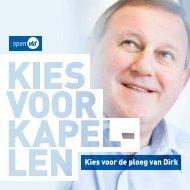 Kies voor de ploeg van Dirk - VLD Kapellen