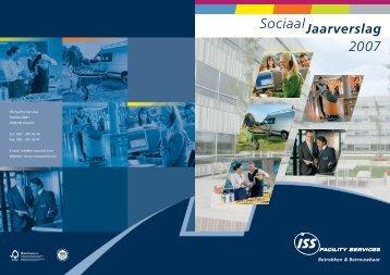 Betrokken & Betrouwbaar 2007 Sociaal Jaarverslag - ISS
