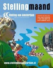 programmafolder - Stelling van Amsterdam