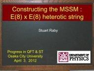 Constructing the MSSM : E(8) x E(8) heterotic string