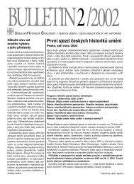 2 - Uměleckohistorická společnost v českých zemích
