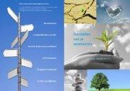 Richtlijn behandeldoelen en herstel van ... - Human Concern