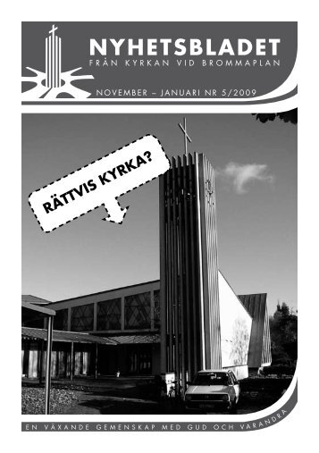 nyhetsbladet - Kyrkan vid Brommaplan