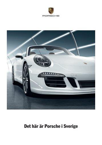 Det här är Porsche i Sverige