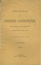 stockholms nationsförening - Murberget CollectiveAccess System