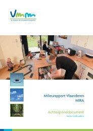 Sector huishoudens - Milieurapport Vlaanderen MIRA