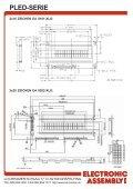 PLED-SERIE 160° BLICKWINKEL LOW POWER typ ... - LCD elementy - Seite 4