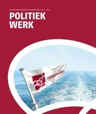 jaaroverzicht 2012-2013 - Politiek Werk - Samenlevingsopbouw