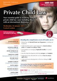 Private Child Law - Field Court Chambers