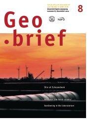 Geobrief 8 - kngmg