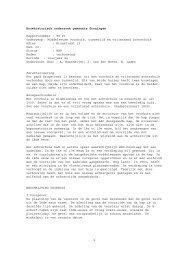 Brugstraat 13 rapport Bastmeijer 1996 en jan. 1998 - Gemeente ...