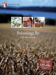 Läs mer om vårt hus - Bränninge gård